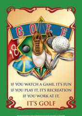 Air Waves - It's Golf Sign