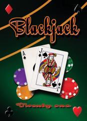 Mike Patrick - Blackjack Twenty One Sign