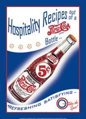Pepsi - Hospitality Recipes Sign