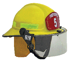 Lite-Force Fire-fighter Helmet