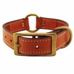 1 in. K-9 Komfort Deluxe Leather Center Ring