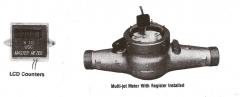 """2""""Bronze Multi Jet Water Meter"""