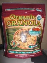 Organic Granola  with Raisins