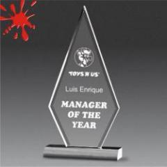 Acrylic Beveled Apex Award