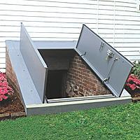 Classic Series Sloped Wall Basement Door