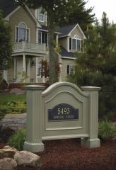 Nantucket Address Sign