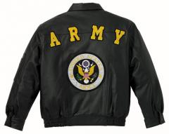 LEATHER JACKET ''ARMY'' 7497