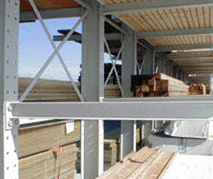 Cantilever Racks (Fully bolted Structural I-Beam)