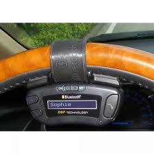 The Mini-Touch steering-wheel-mounted control pad