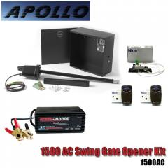 Apollo 1500 AC Swing Gate Opener Kit