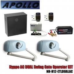 Apollo Hyppo AC Dual Swing Gate Articulating Arm