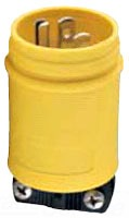 1447 - 15A 125V 2P3W WT Plug - Cooper Wiring