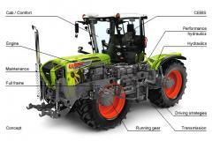 Tractors XERION 3800/3300