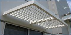 Pre-Fabricated Sunshade/Air Foil System