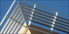 Mechanical Sunshade/Air Foil System