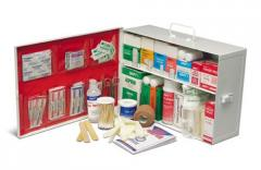 2 Shelf Workplace Industrial First Aid Kit with