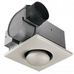Broan, Bathroom Fan With Infrared Bulb Heater, 162