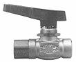 Flomite® 71 Series 2-Way Integral Panel Mount Ball Valves