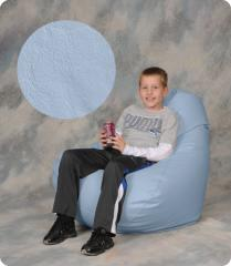 Ice Blue Large Bean Bag