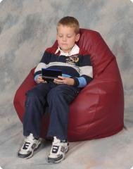 Maroon Kids Bean Bag