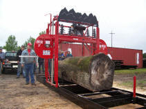 "Oscar 52"" manual portable sawmills"