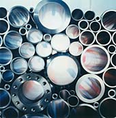 Seamless steel tube and pipe for general