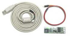 4 wire controller - PC interface: RS232, USB or