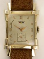 Benrus gents rectangle wristwatch