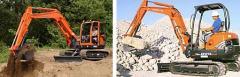 Excavators Kubota KX Series