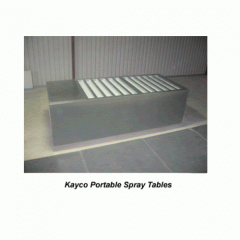 Portable Spray Tables