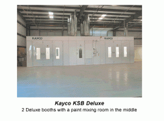 KSB Deluxe Spray Booth Series