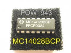 Motorola Mc14028bcp Ic, Nos