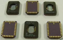 Fujitsu Nm27c512-25 32-Plcc Eprom 512k, New