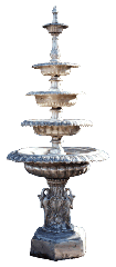 Two, Three, Four and Five Tier Fountain