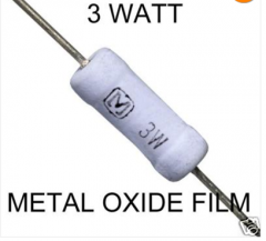 Resistors Metal Oxide 3 Watt 5%