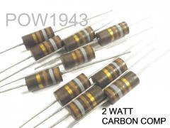 Allen Bradley 2 Watt Carbon Composition Resistors