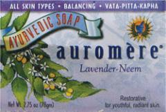 Ayurvedic Bar Soap Lavender-Neem