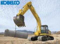 Full Size Excavator Kobelco SK210LC
