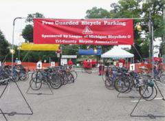 Bike-Check™ Portable Bicycle Parking System for All Events