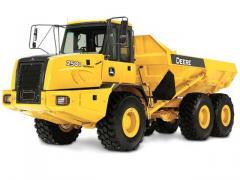 Articulated Dump Truck John Deere Construction