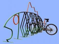 Fun Series bike parking
