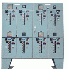 Capacitor bank and harmonic filter bank automatic
