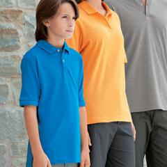 Youth Short Sleeve Mainsail Pique