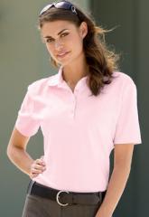 Ladies Cotton Pique Sportshirt
