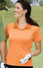 Ladies Polyester Performance Golf Shirt
