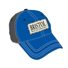 BMS Distressed Patch Hat