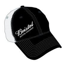 BMS Black/White Mesh Hat