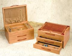 Mission Jewelery Box-Double Drawer