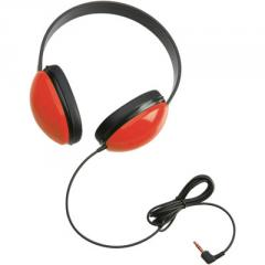 Listening First™ Stereo Headphones, Red