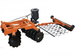 Disc Harrows Land Pride DH1572